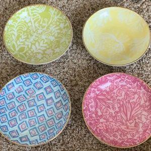 Lily Pulitzer fruit bowls